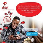 #ARS2016 Enjoy 95% discount on all @Airtel_Ug Calls and FREE Facebook @Airtel_Ug #TheSmartphoneNetwork #ARS2016 https://t.co/ZmeIV9nPwo