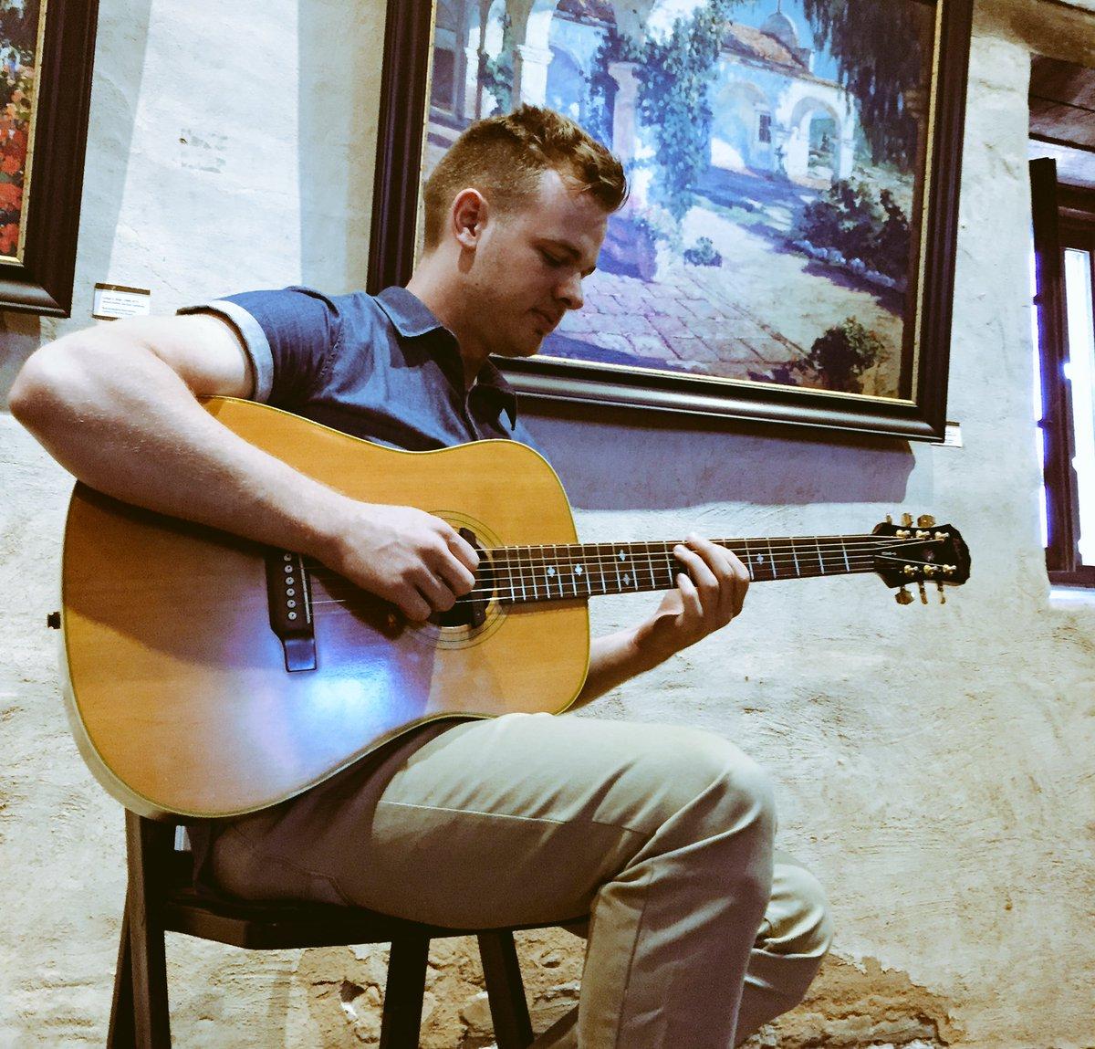 @ClarkBeckham performing at @MissionSJC #missionsjc https://t.co/jD11z0aZis