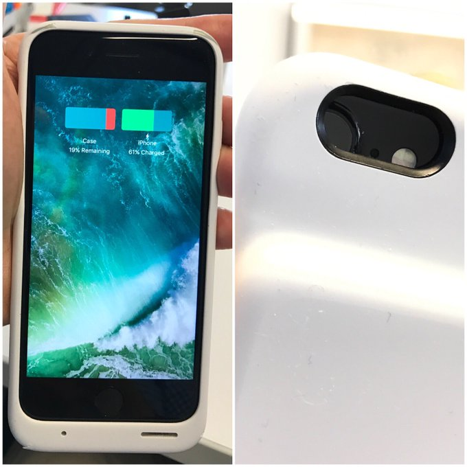 Apple's new iphone case nearly doubles battery life ...