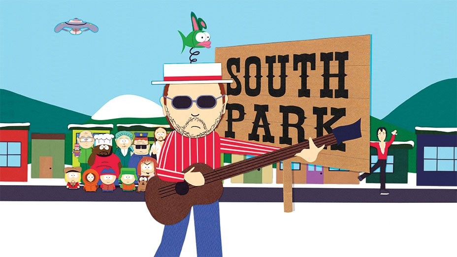 Happy Birthday @SouthPark. Les spoke w/ @THR on how the theme song came together. Read it: https://t.co/TbP3KxqKLw https://t.co/j3Xq0DVRNj