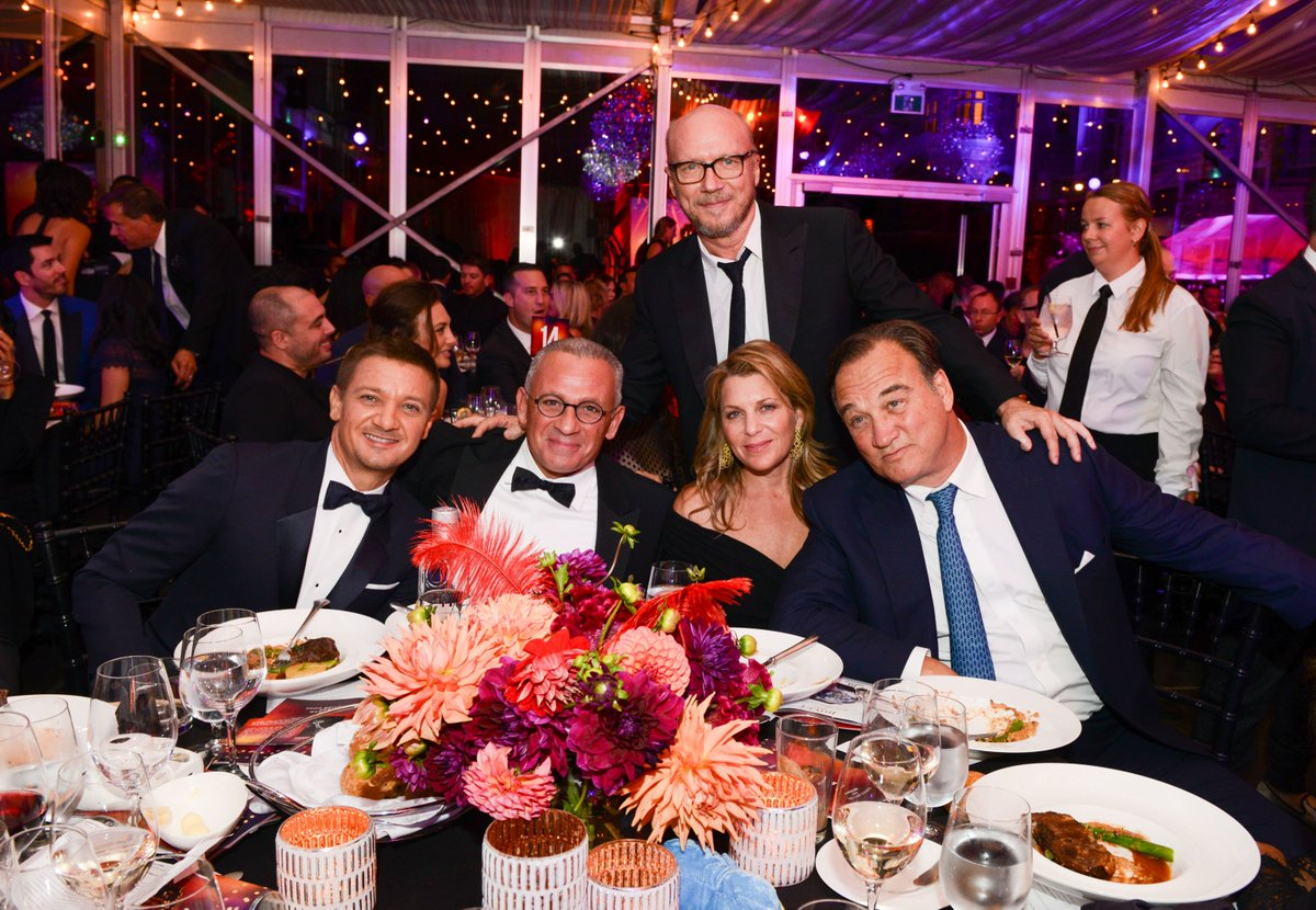 Special thanks to co-hosts @Renner4Real and @JimBelushi for helping make #APJFest16 a night of celebration & success https://t.co/ztquqZmpPK