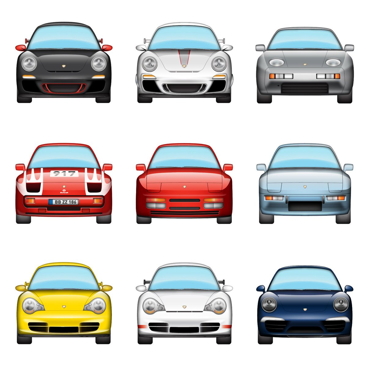 Fight Back Against Bad Emojis With This Porsche Automoji Sticker Pack for iOS 10 -  https://t.co/hei8FZvwNA https://t.co/dRO1RXALDb