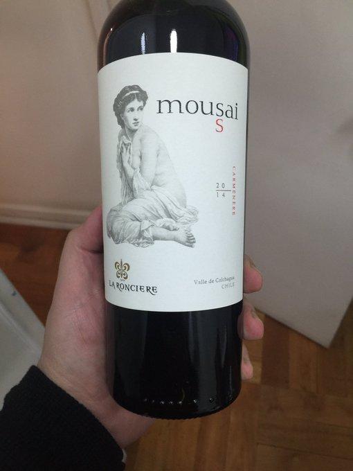 Kết quả hình ảnh cho mousai s merlot la ronciere