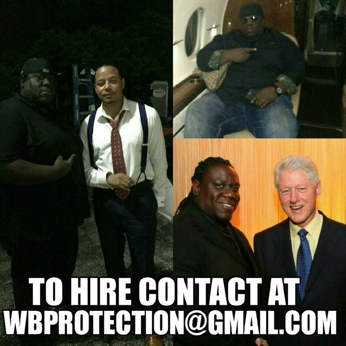 For all your Executive Protection and logistical needs in Miami or worldwide hire @Wbprotection. https://t