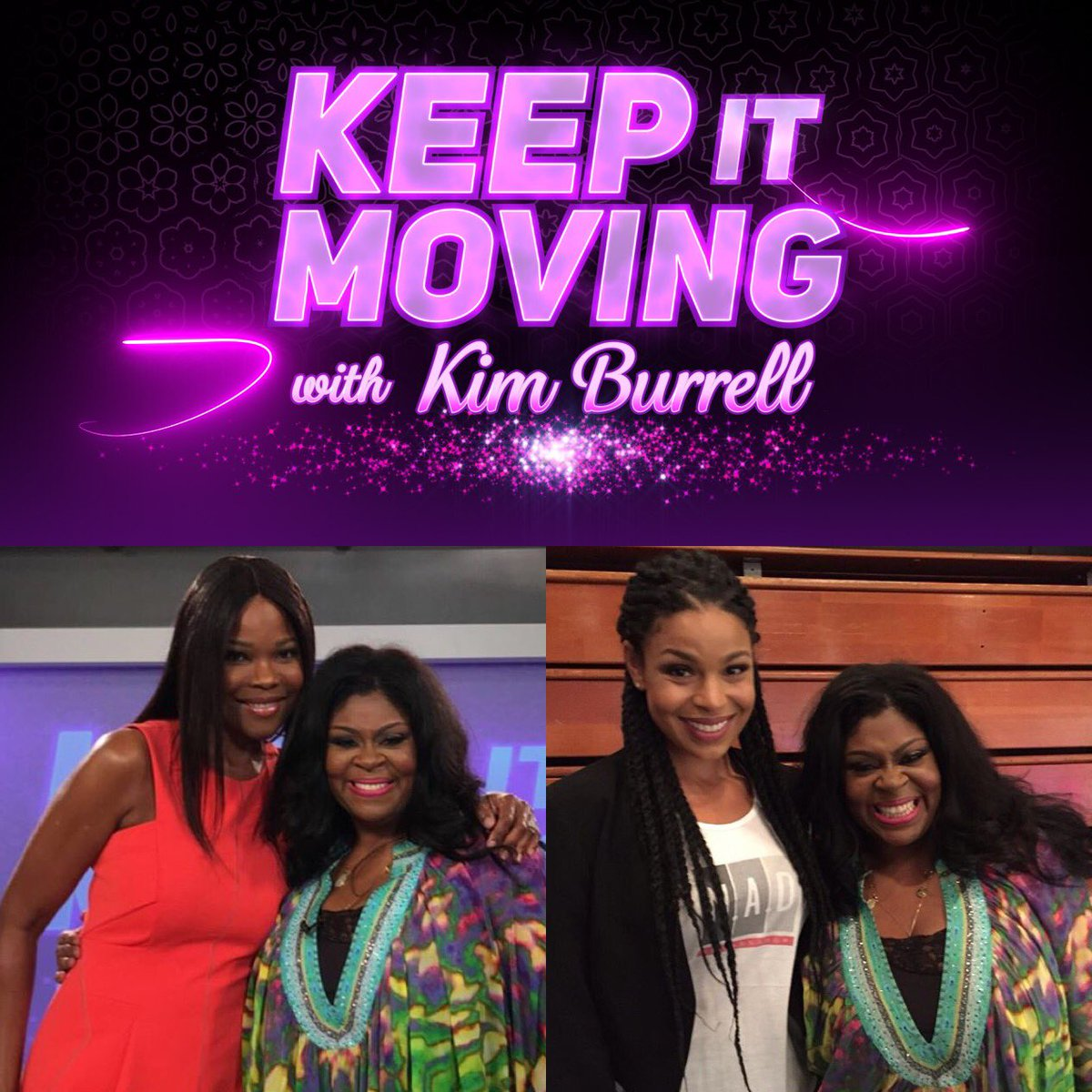 @KimBurrellLove's Talk Show airs 9/16 1:30pm & 9/17 12:30pm on @CW39Houston with @AngelaRobsChild & @JordinSparks!