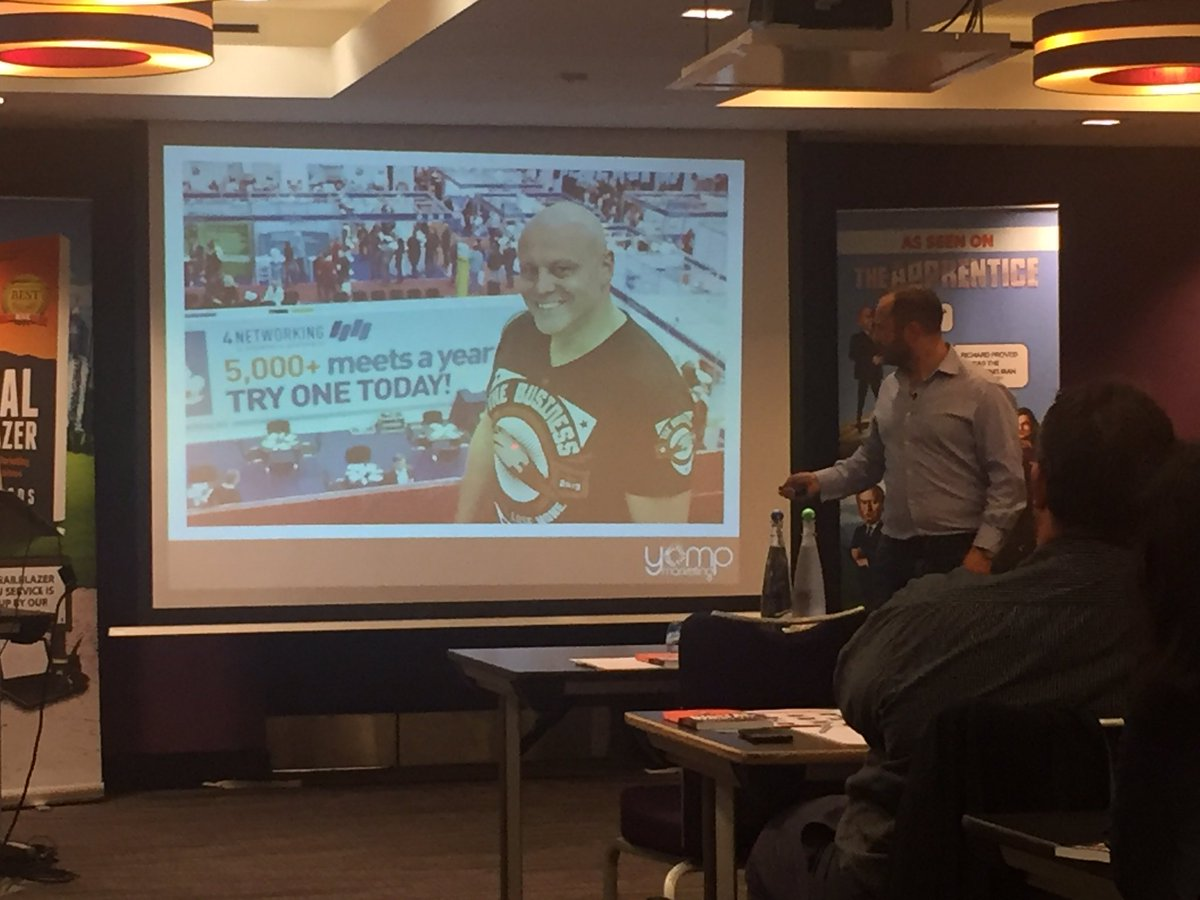 Great to see @BradBurton in 2 places at once!
