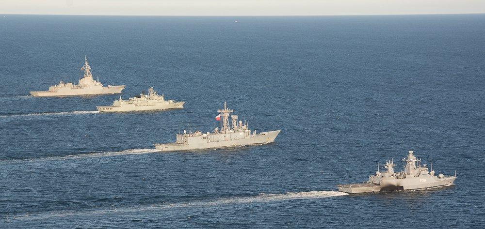 Resultado de imagen de agrupación naval aliada SNMG-1