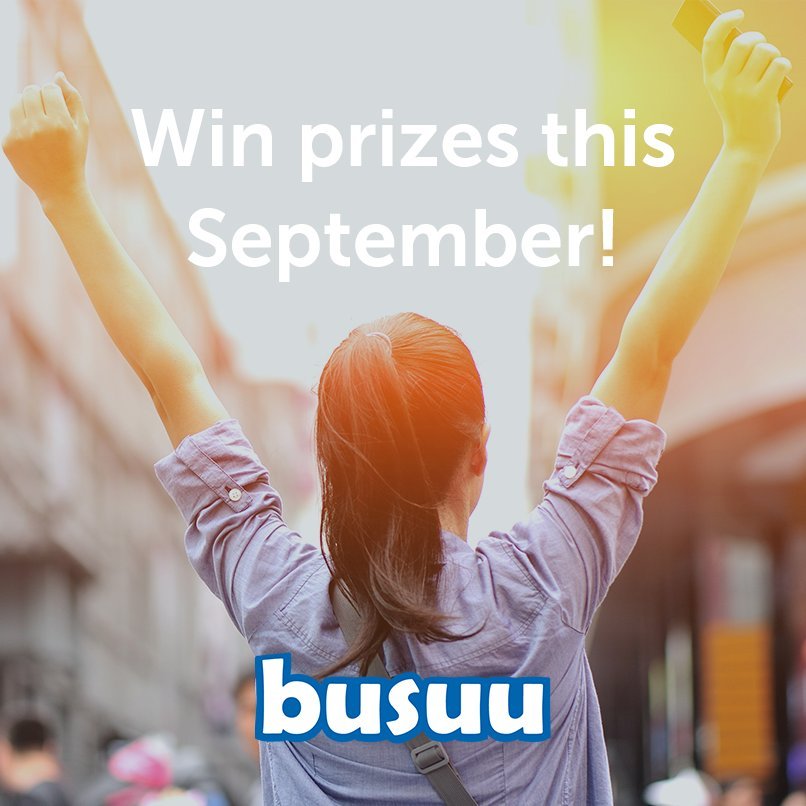 Find out how to win either an iPhone 7, Samsung Galaxy tab or a busuu Premium membership   https://t.co/WI2IjjaKzO https://t.co/wg1gVO6z9S