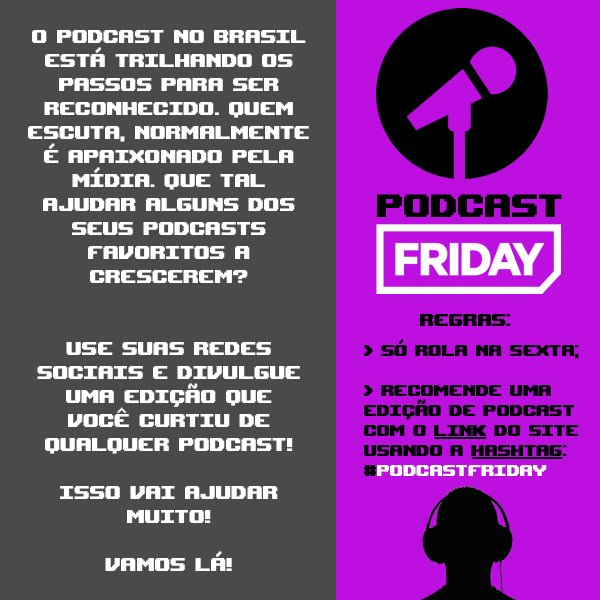#PodcastFriday: Podcast Friday