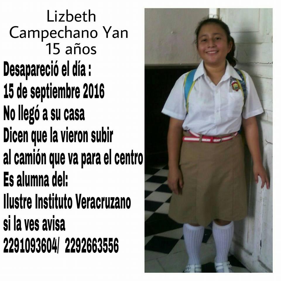 Amig@s, por favor ayuden a difundir esta información, de una menor desaparecida en Veracruz. RT https://t.co/dVEpSrY0TX