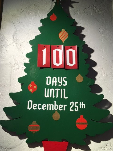 Did we forget to mention...only #100 more days till #Christmas! Let the #ChristmasCountdown begin!