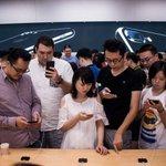 Filas e frustração no primeiro dia de vendas do iPhone 7