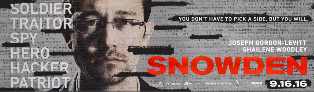 I knew almost nothing about Ed @Snowden before playing him. So curious to hear what you guys think of this movie.. https://t.co/qnwH4H7rdn