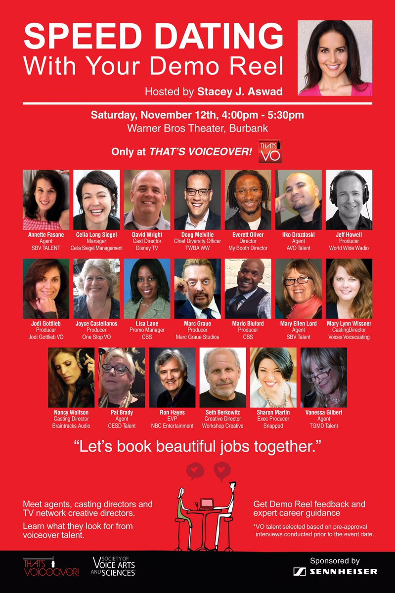 Excited 2 b outta my booth hosting this! Thx @ThatsVoiceover @Joanthevoice @rgaskins1 jodigottliebvo @patbradyjoles https://t.co/4Oal9BjP9L