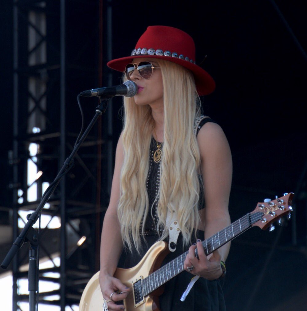 Today,@KAABOODELMAR is in full swing with @orianthi and beautiful Del Mar!