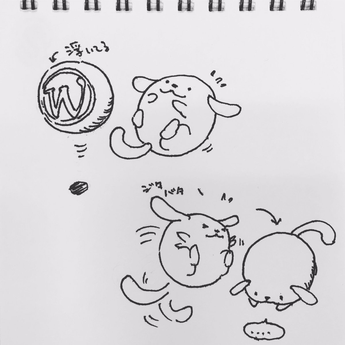 わぷー と球体との関係図 #wctokyo #wapuu https://t.co/KGo6UVJ3zl
