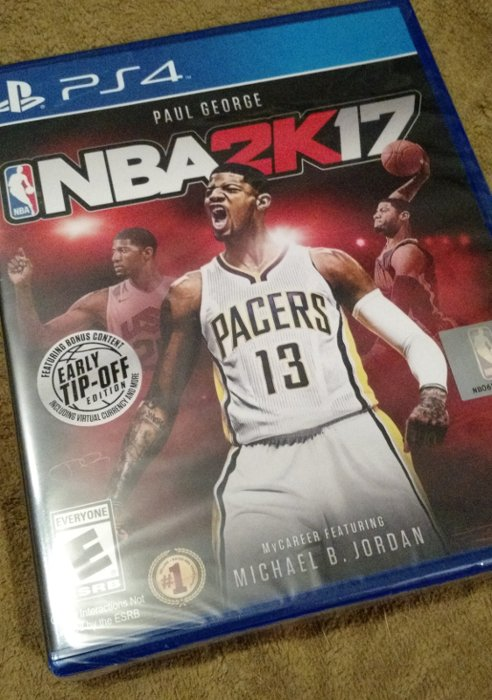Giving away another copy of NBA 2K17 - this one PS4 only. RT/Follow for chance at random draw. DM winner Sun night. https://t.co/GNjQDGb7ir