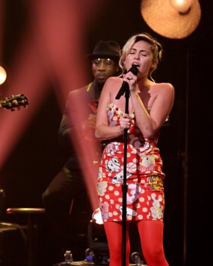 #MileyOnFallon: Miley On Fallon