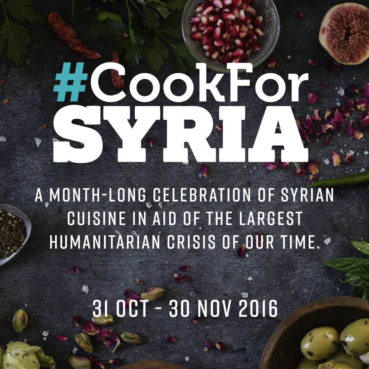 We are supporting #CookForSyria campaign at a Charity Banquet on 31 Oct for @unicef_UK's Children of Syria Fund. https://t.co/K6eAX20VNT
