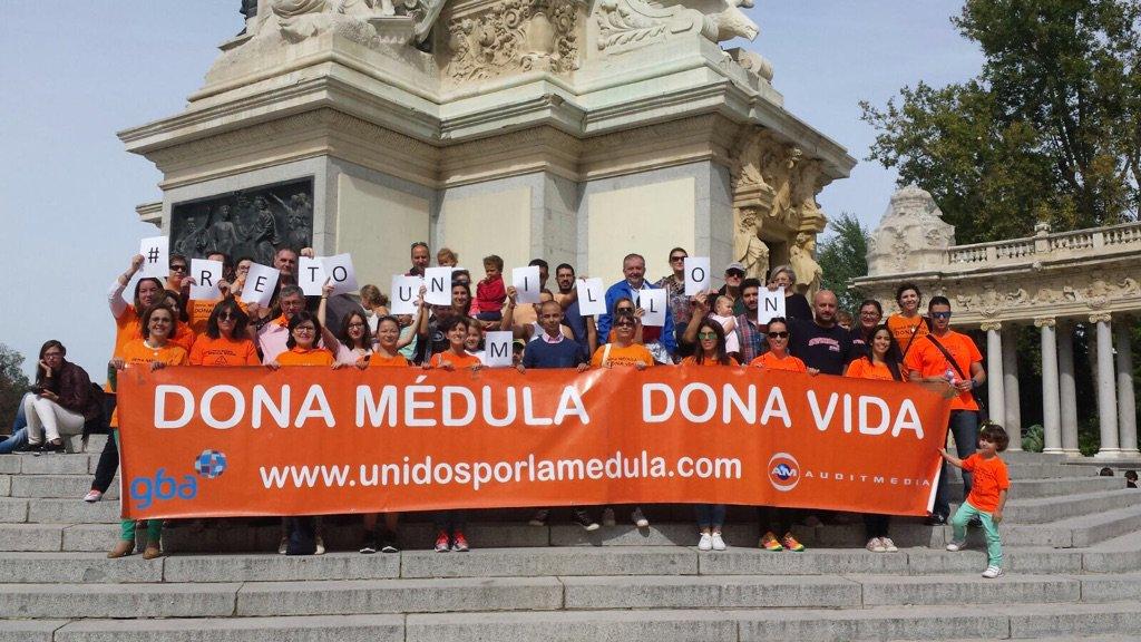 Hoy tocaba de nuevo seguir pidiendo #DonaMedula #RetoUnMillon ¿a qué esperas? ¿Hazte donante de médula osea? https://t.co/vLeYtcEOTY