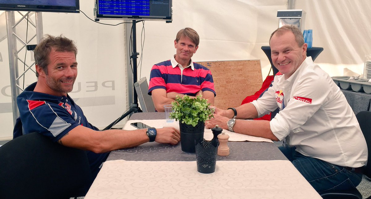 A smile from 3 legends goes a LONG way... #WorldRX