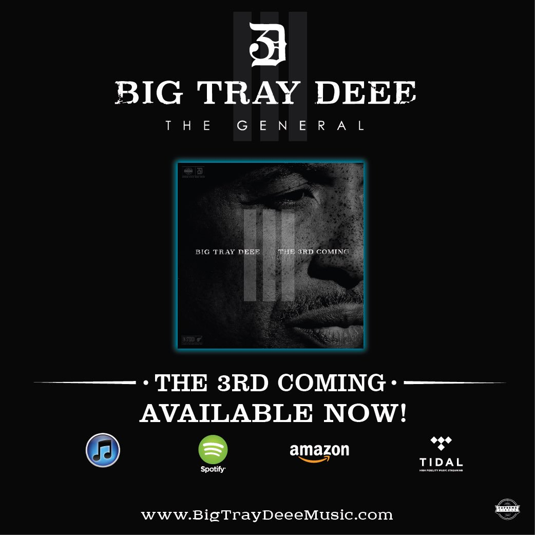 "Make sure you get ""The 3rd Coming"" available in all digital stores! #T3C #NewMusic #SCMG"