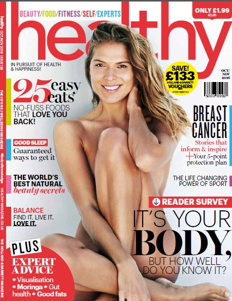 NEW @healthymag is out today and in stores nationwide. Pick yours up when you next pass ;-) #BodyOfKnowledge https://t.co/5iDPstocE0