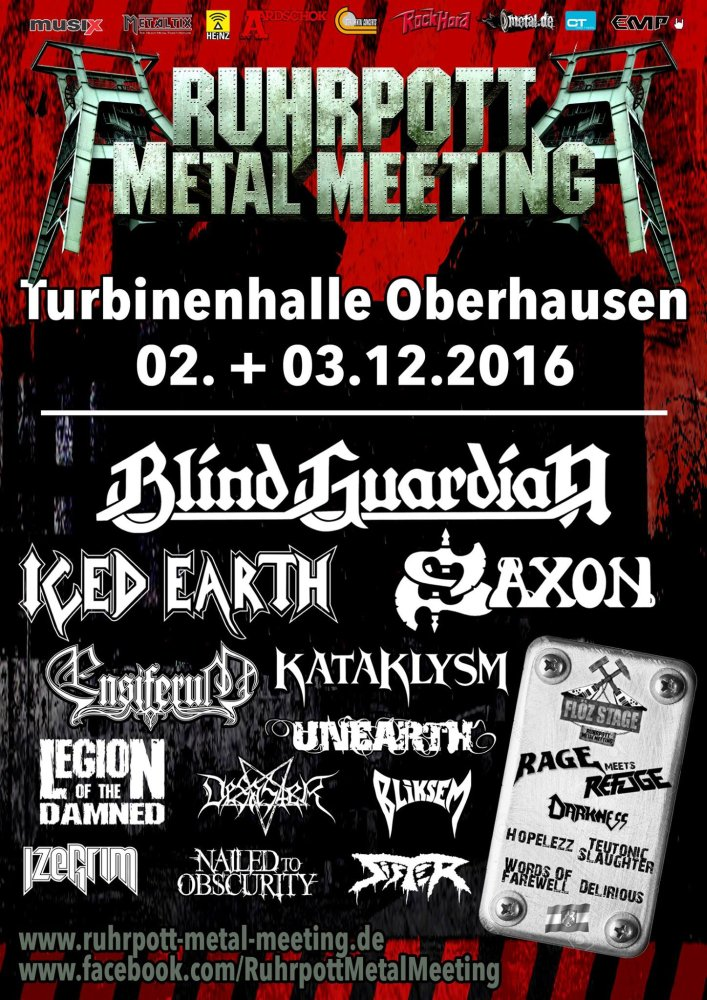 #mhgNews : #GermanMetalFestival @RuhrpottMM Posts Finally Flyer 2016  #metalheads #metalgirls #Germany #metal https://t.co/huhyTZkYAy