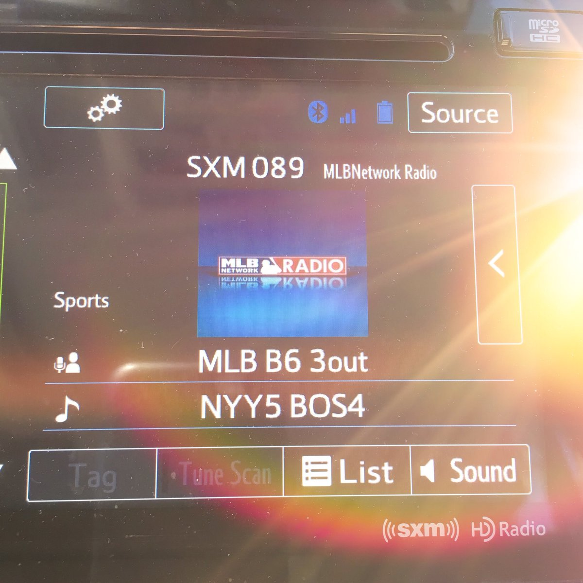 Great @MLB @Yankees vs @RedSox on @XMRadio_TM Blessed I can have this technology!! #YANKEES #Redsox #24 Goodtimes https://t.co/MN72CFug6y