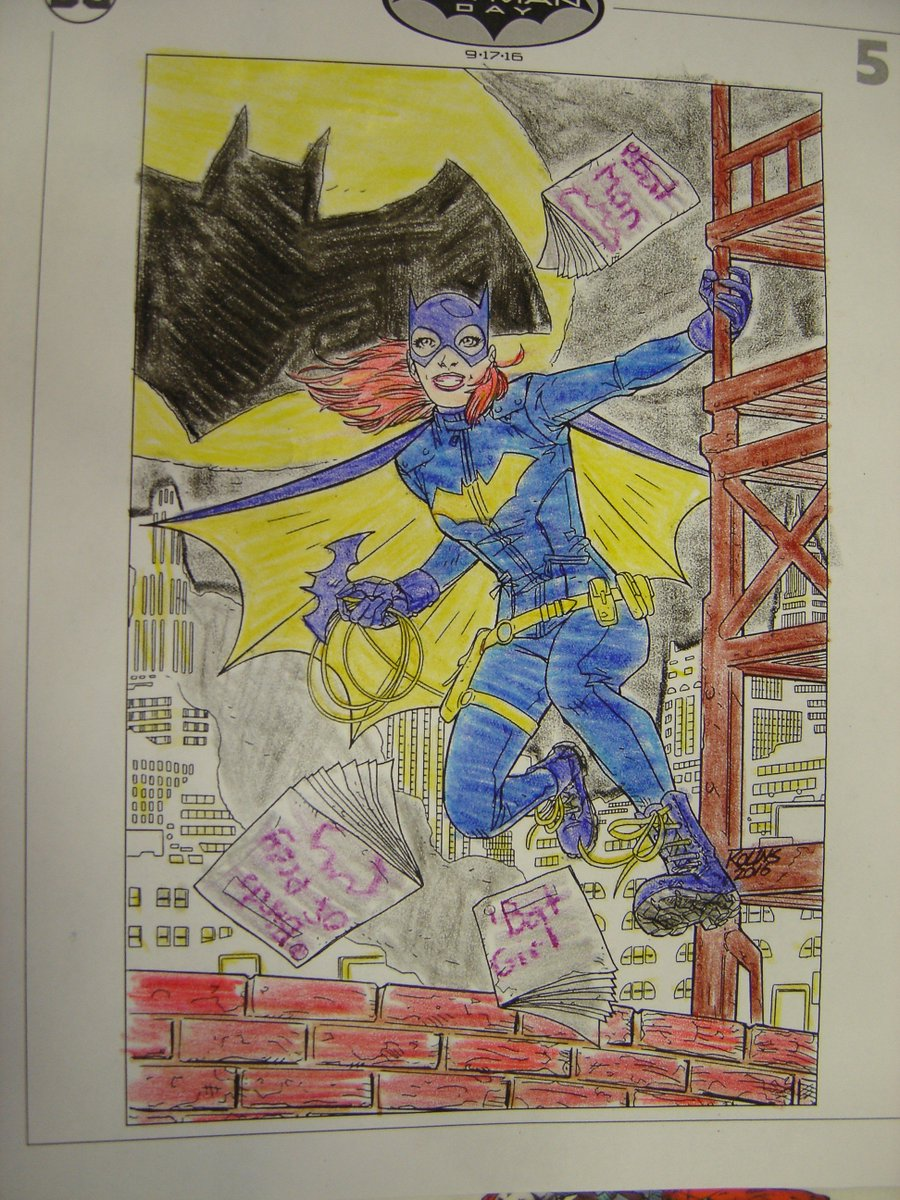 Entry #5 for our #BatmanDay #ColoringContest Done by Cailynne :) remember, your retweets are being counted as votes! https://t.co/u4e4yIayQl