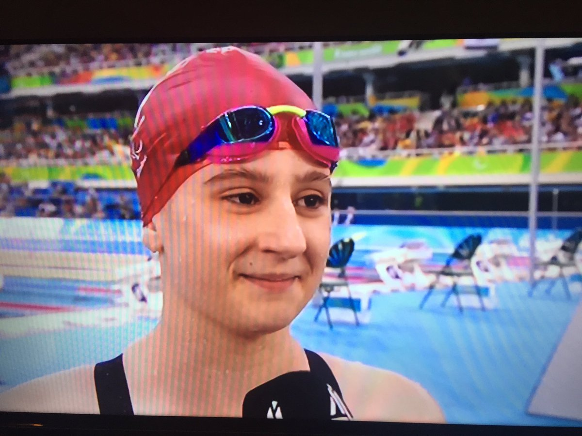 Incredible!! Our @ParalympicsGB star, Abby Kane, wins SILVER in 100m back final! What a superstar