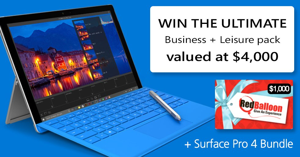 Enter our #Vantage16 competition to WIN a $4,000 #Office365 business & leisure pack. Click: https://t.co/iaBcPu4IT8 https://t.co/5Rf2UCtJa7