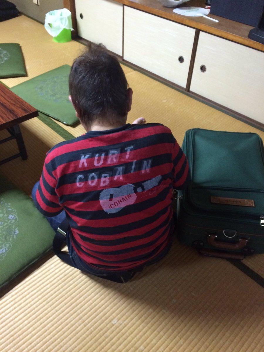 正司敏江師匠のTシャツのバックプリントです!  おそらく聴いてないとは思いますが…。 https://t.co/rqTkphFeUP