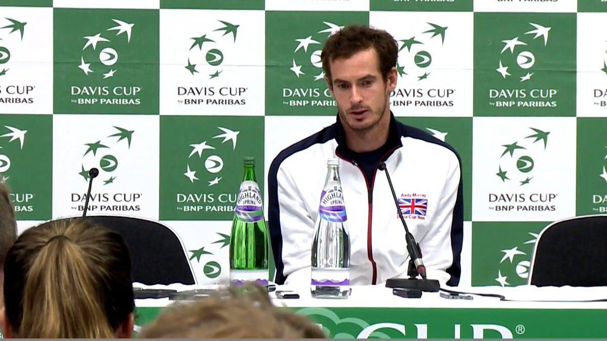 #GBRARG @andy_murray was asked why he left the court for his medical time out. His response was, well, honest... https://t.co/polSlEbxcm