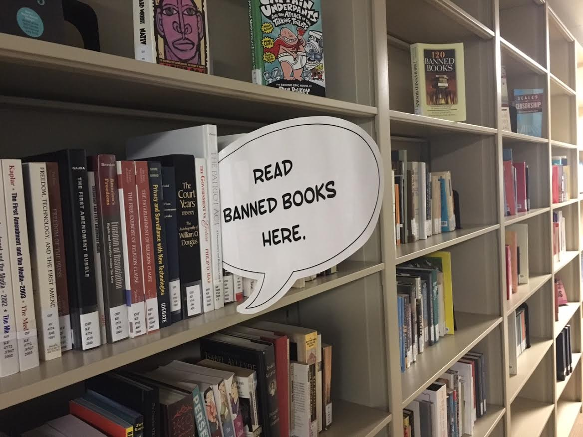 We always have something to read in the office... #ShelfieSunday #BannedBooksWeek https://t.co/pTx0wXzDTa