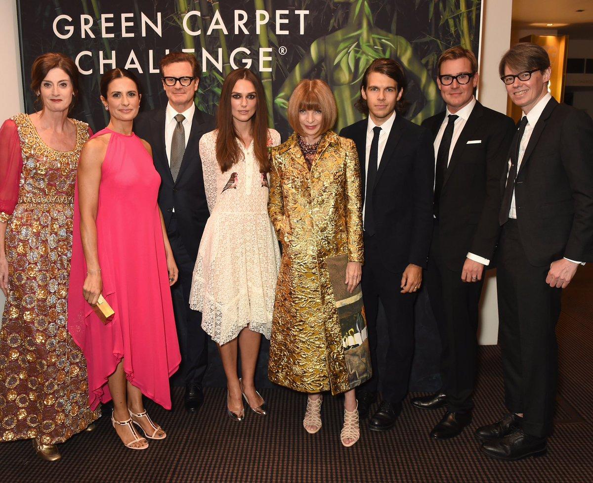 #GreenCarpetChallenge2016 @liviafirth @BAFTA @WilliamVintage @voguemagazine #KeiraKnightley #ColinFirth #AnnaWintour https://t.co/PiYRtlLpVh