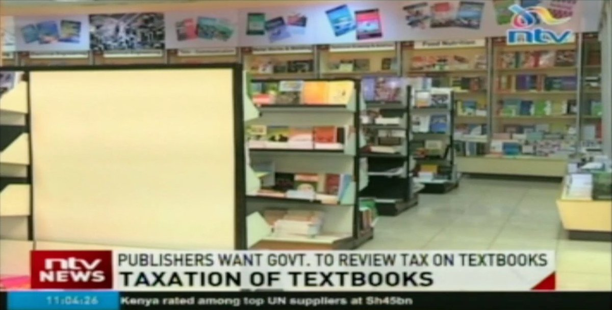 Publishers want government to review tax on textbooks