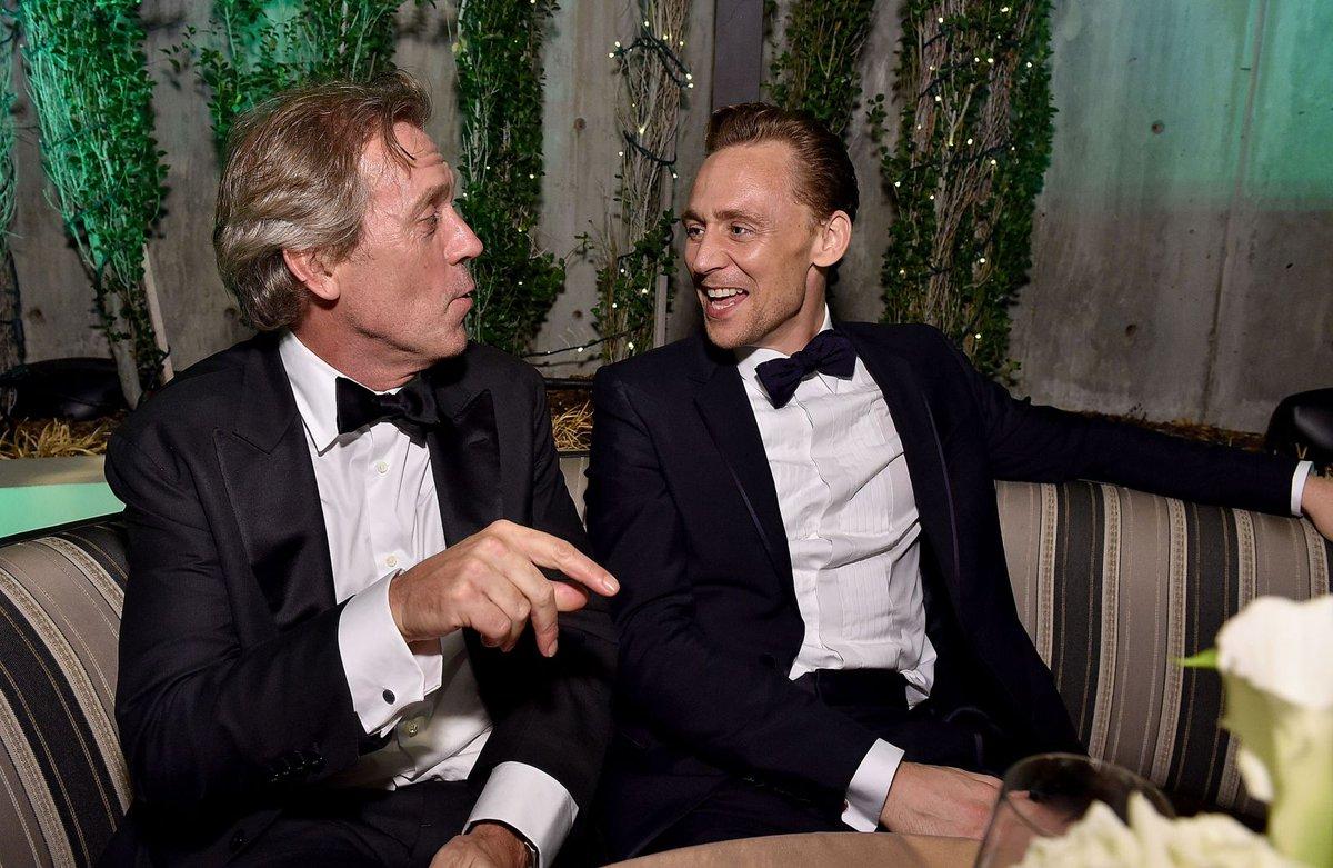 Hugh Laurie & #TomHiddleston - AMC/IFC Emmy After Party - 7x HQ - https://t.co/r36IEC5TKn https://t.co/clEGWu3hvr