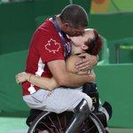 Le baiser à retenir des Jeux paralympiques de Rio 2016