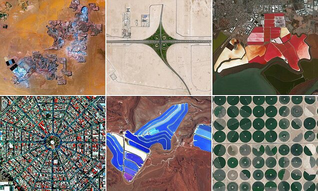 The world from above Stunning aerial images reveal the Earth as you