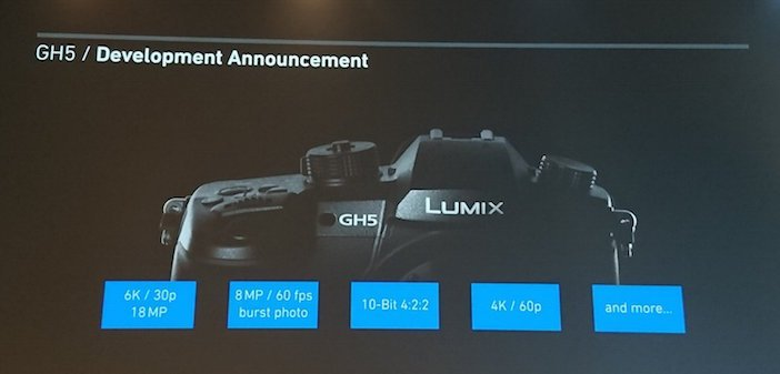 Panasonic GH5 announced! Features new body design and 4K 60p, 10bit 4:2:2 https://t.co/lszvIcfeaM https://t.co/Drtwhafq9y