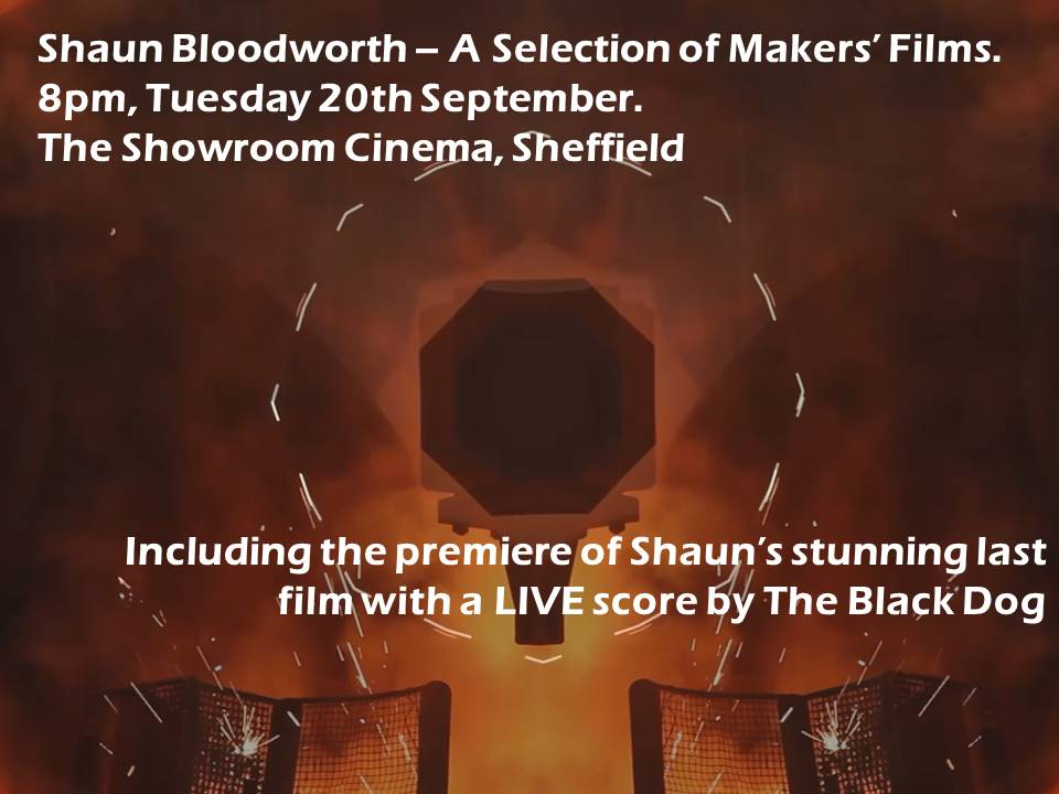 Tomorrow: 1st screening of Shaun's film about Forgemasters w/ live score by @TheBlackDog https://t.co/PiyOB2aUEE https://t.co/bRC4xks8jM