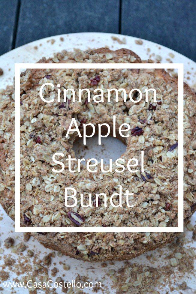 Embracing Autumn flavours with Cinnamon Apple Streusel Bundt Cake https://t.co/sdQ2qZBHn5 https://t.co/EkS2kn1R06