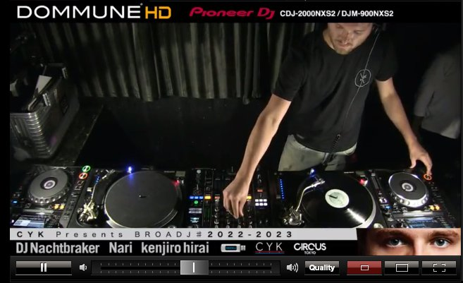 Tune in now to @DOMMUNE live from Tokyo for @Nachtbrakermusi ! -> https://t.co/iHmgSRiKbQ https://t.co/mG6kISAaY0