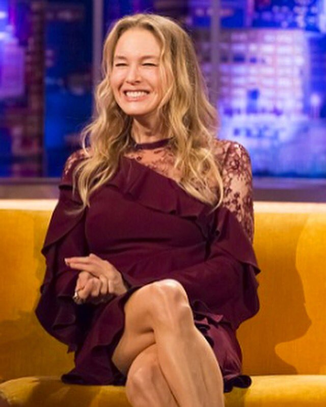 Positive vibes your way from a glowing renée zellweger in ...