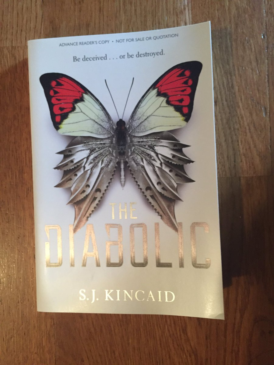 Giveaway! Open to US/Can Win a copy of The Diabolic by @SJKincaidBooks RT and follow my blog to enter! https://t.co/CtSX0YHDFH