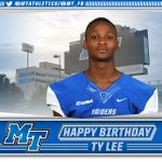 RT to wish Ty Lee a Happy Birthday! #BlueRaiders https://t.co/hP9PM0kRXi