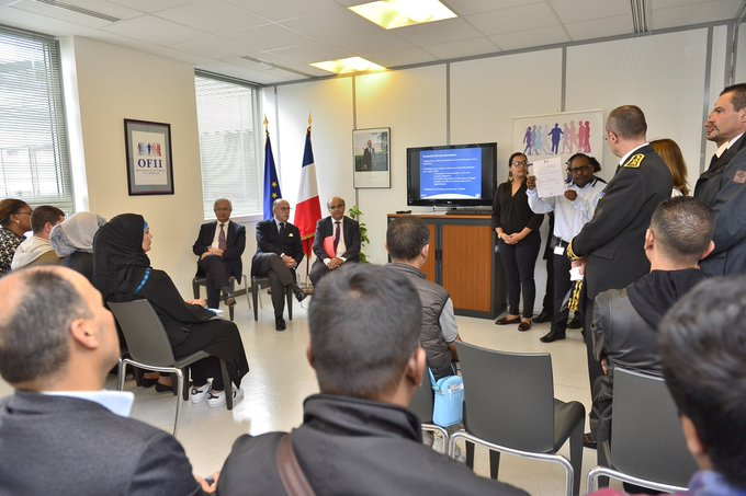 En direct bcazeneuve se rend l 39 office fran ais de l - Office francaise d immigration et d integration ...