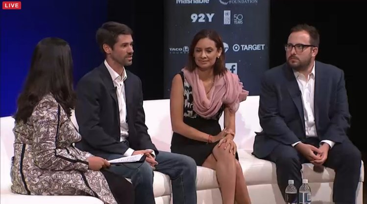 Happening now: @matthewmahan @MariaTeresa1 #SocialGoodSummit #2030Now Livestream: https://t.co/JCSERTpAou https://t.co/nwxGR89Huz
