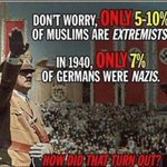 Liberals:Dont worry only 5%-10% Muslims are terrorists! Muslims make up 23% of world pop. with approx 1.6 billion! https://t.co/kIoScUMUb7